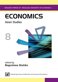 PN 134 Economics 8. Asian Studies